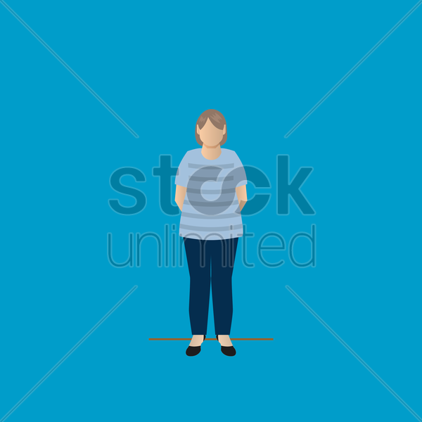 grandmother vector graphic