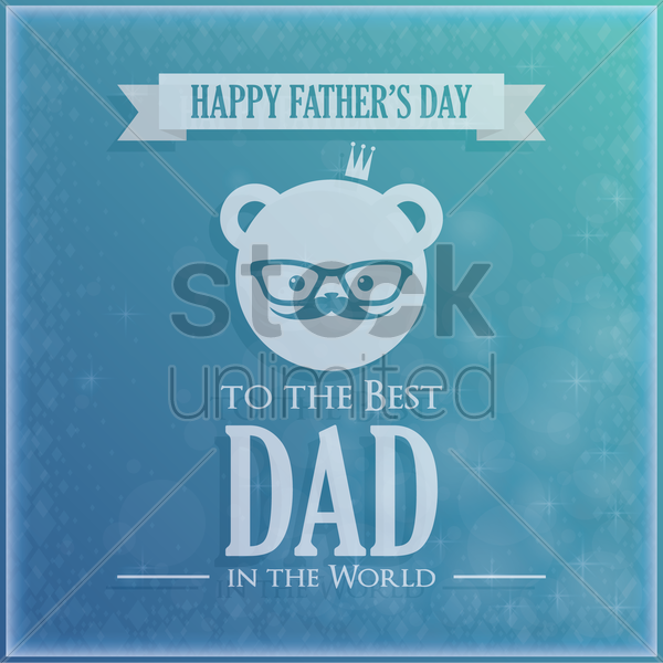 happy father's day wallpaper vector graphic