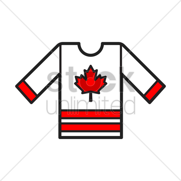 hockey jersey vector graphic