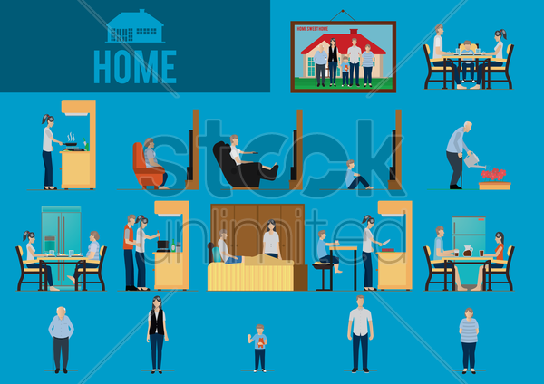 home vector graphic