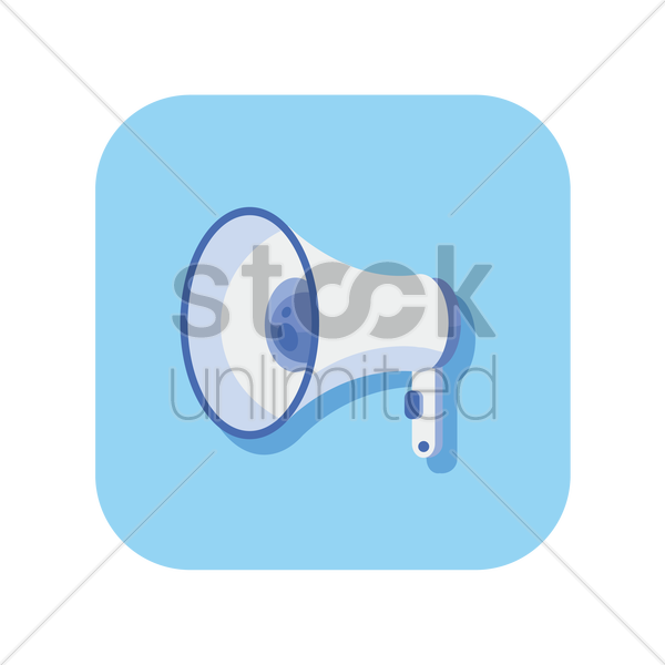 icon of a microphone vector graphic