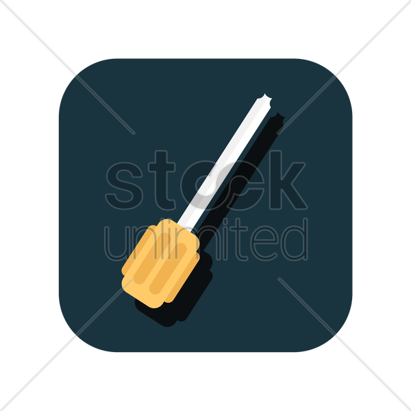 icon of a screwdriver vector graphic
