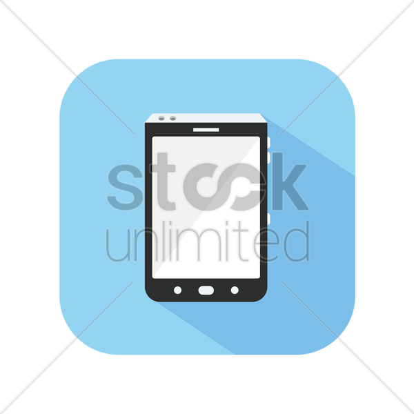 icon of a smartphone vector graphic
