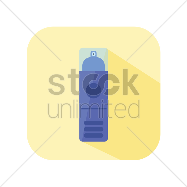 icon of a spray bottle vector graphic