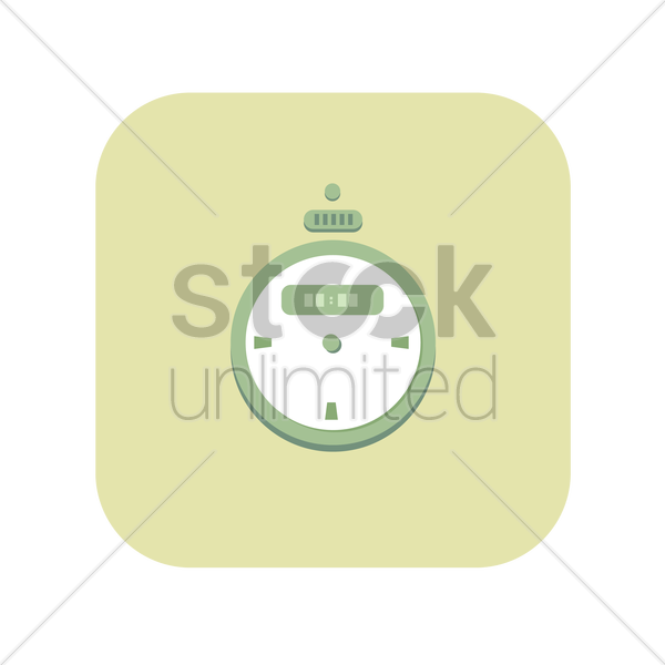 icon of a stopwatch vector graphic