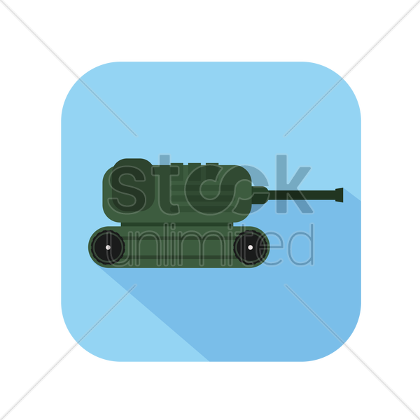 icon of a tanker vector graphic