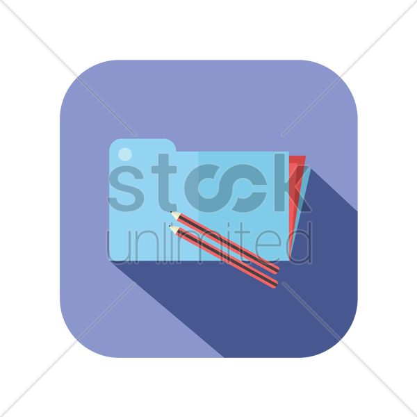 icon of an office file vector graphic