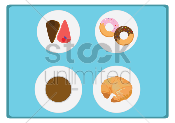 Free icons for food and drink vector graphic