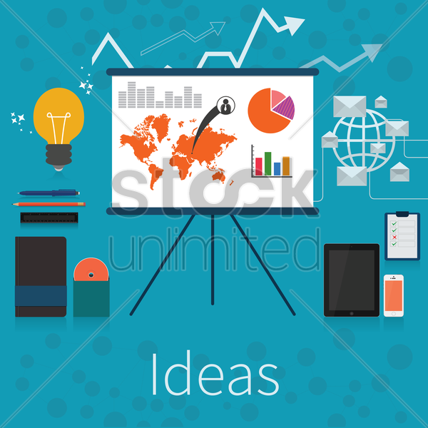 ideas vector graphic