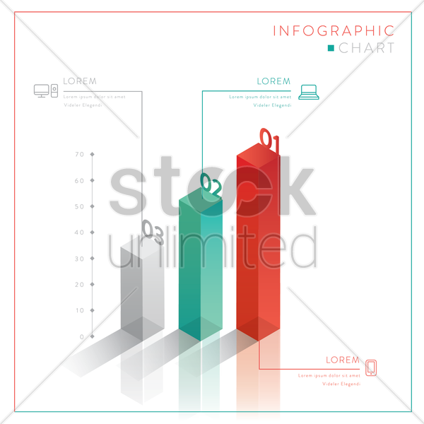 infographic chart vector graphic