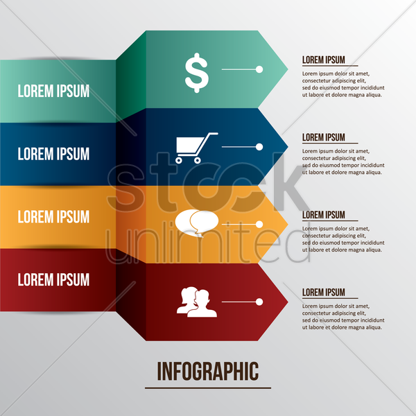 infographic design vector graphic