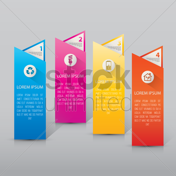 infographic elements vector graphic