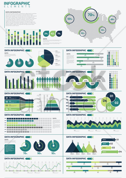 infographic template design vector graphic