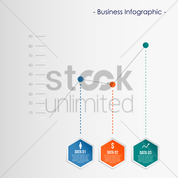 infographic template vector graphic
