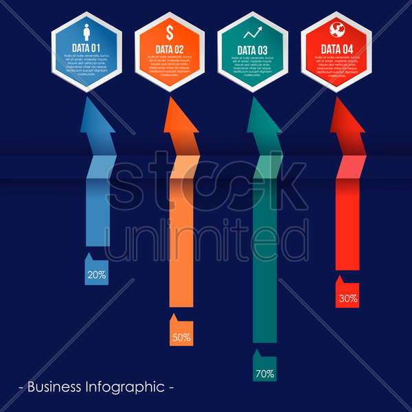infographic vector graphic