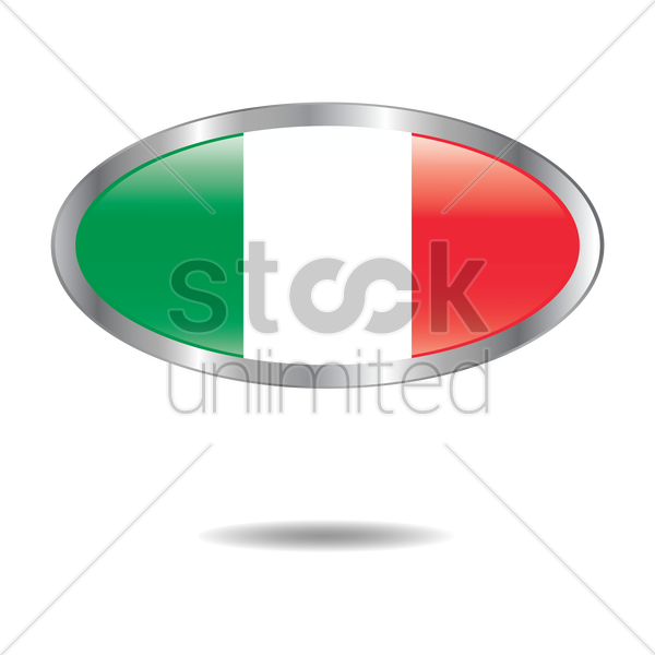 italy flag icon vector graphic
