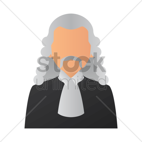 judge vector graphic