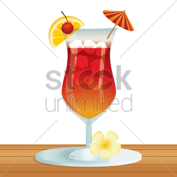 juice glass vector graphic