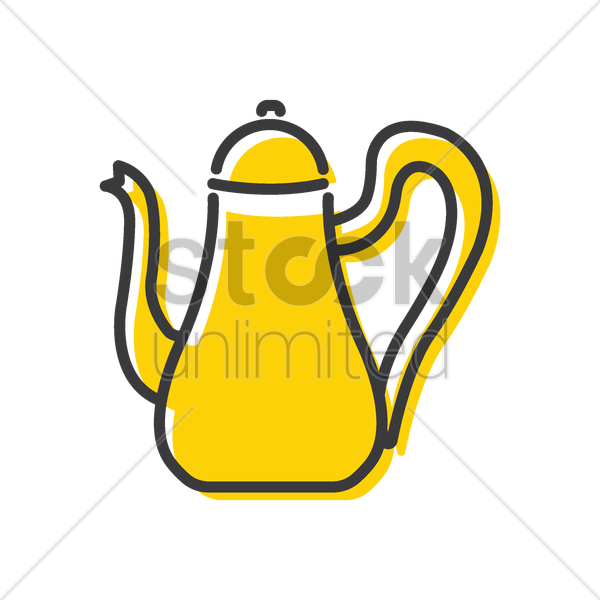 kettle vector graphic