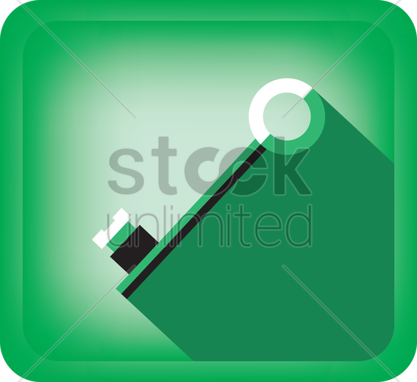 key vector graphic
