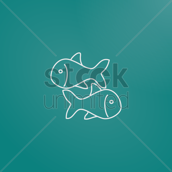 koi fish vector graphic
