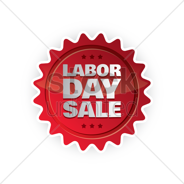 Labor Day Sale: Labor Day Sale Label Vector Image - 1536807