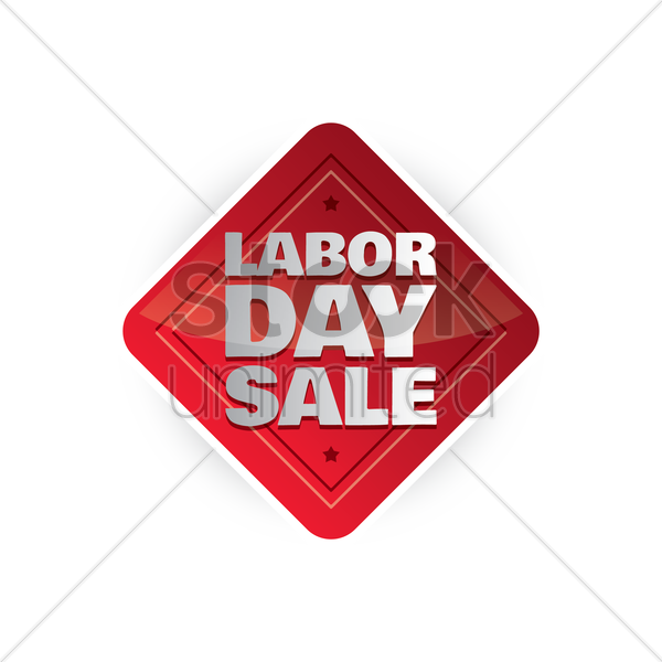 Labor Day Sale: Labor Day Sale Label Vector Image - 1536808