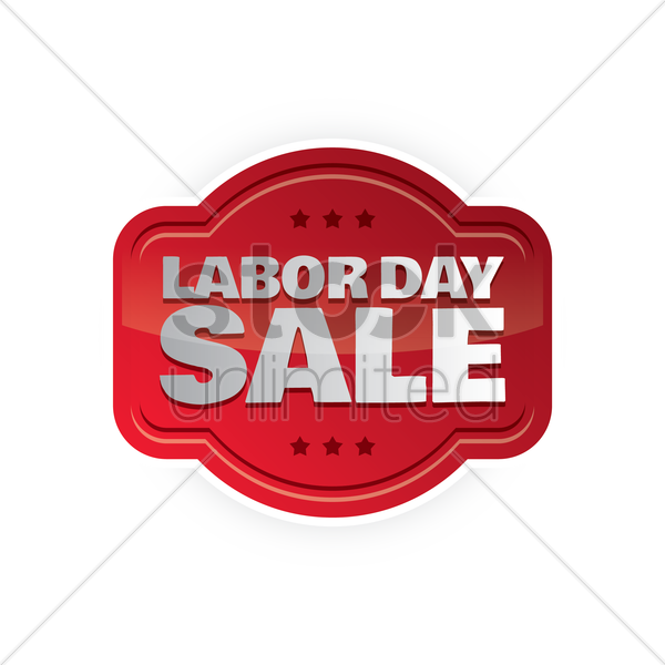 Labor Day Sale: Labor Day Sale Label Vector Image - 1536811