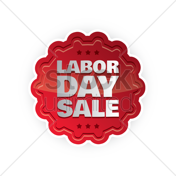 Labor Day Sale: Labor Day Sale Label Vector Image - 1536814