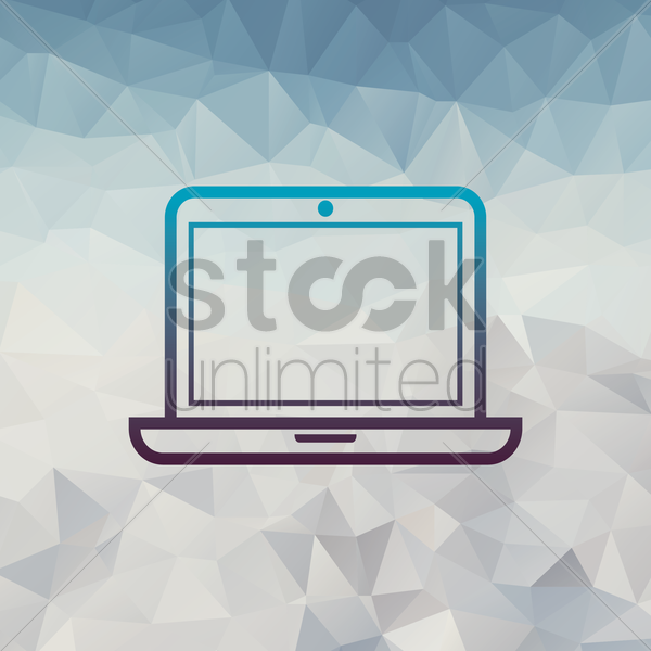 laptop vector graphic