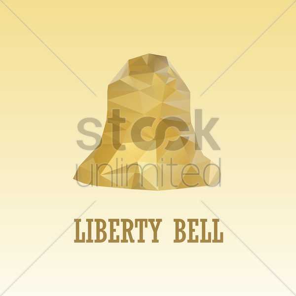 liberty bell vector graphic