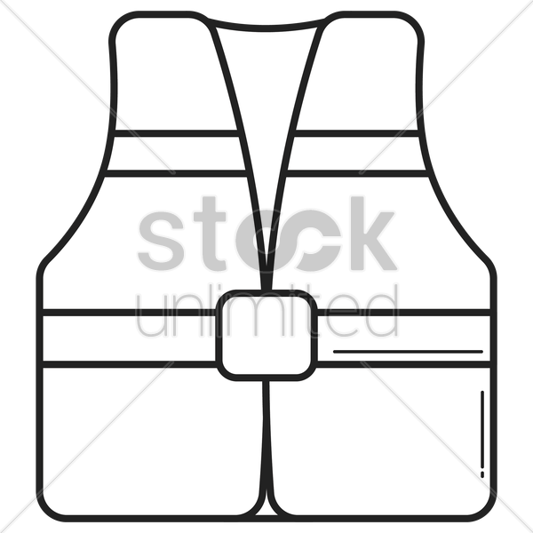 life jacket vector graphic