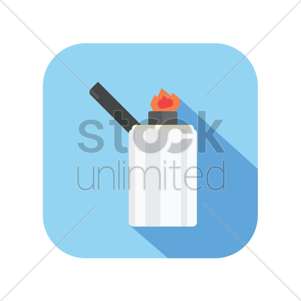 lighter vector graphic