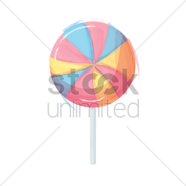 lollipop vector graphic
