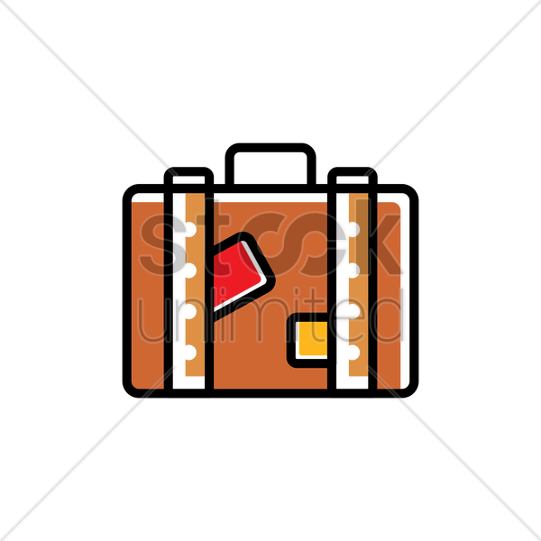 luggage vector graphic
