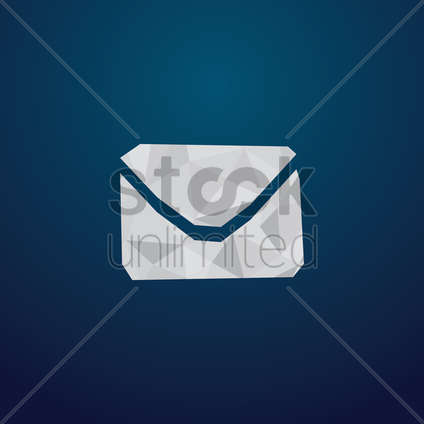 Free mail icon vector graphic