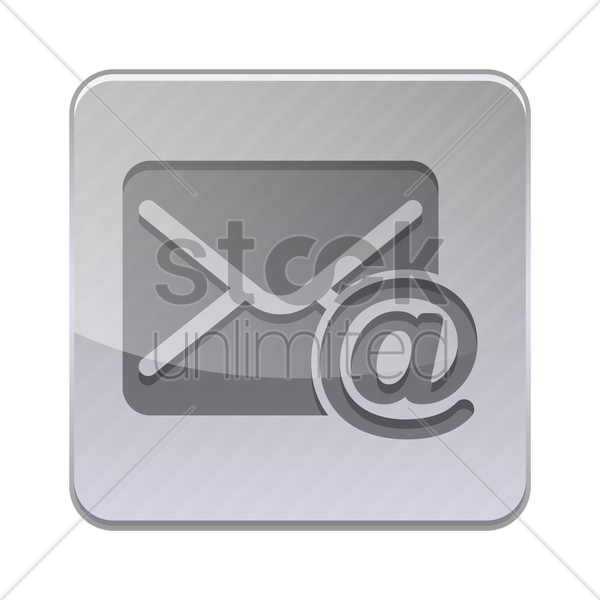 mail icon vector graphic