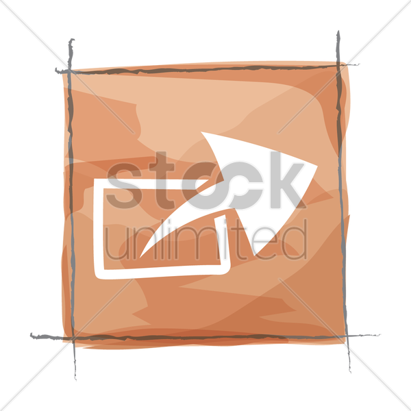 mail sending icon vector graphic