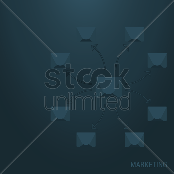 marketing background vector graphic