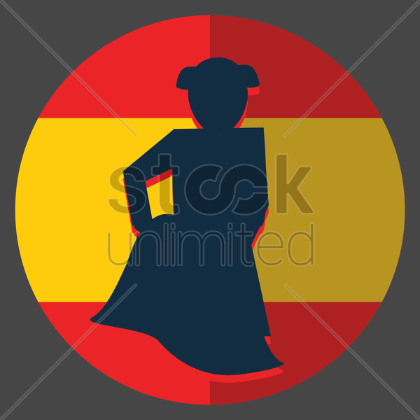 matador vector graphic