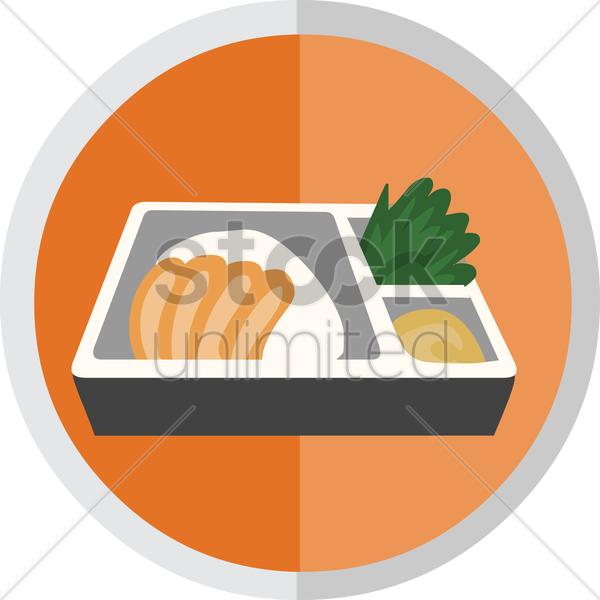 meal vector graphic