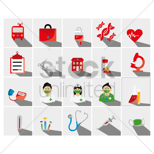 medical concept vector graphic