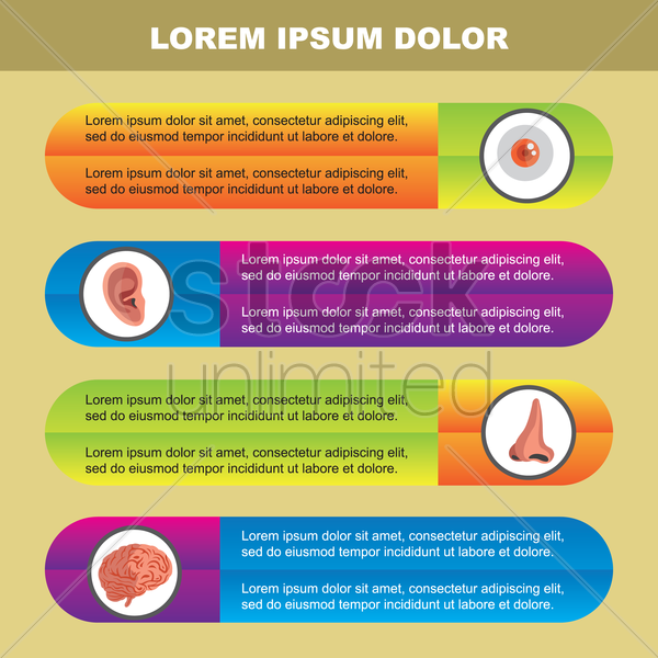 medical poster with text vector graphic