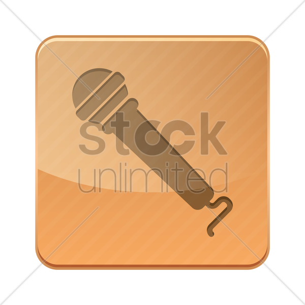 microphone icon vector graphic