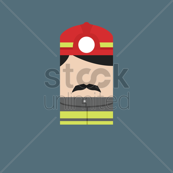 miner vector graphic