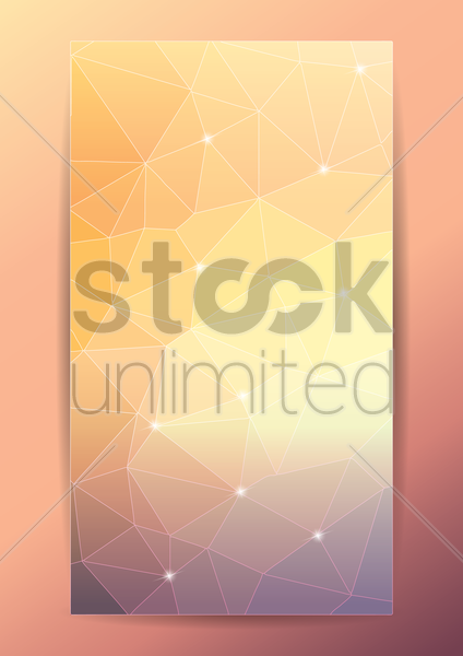 mobile interface wallpaper vector graphic