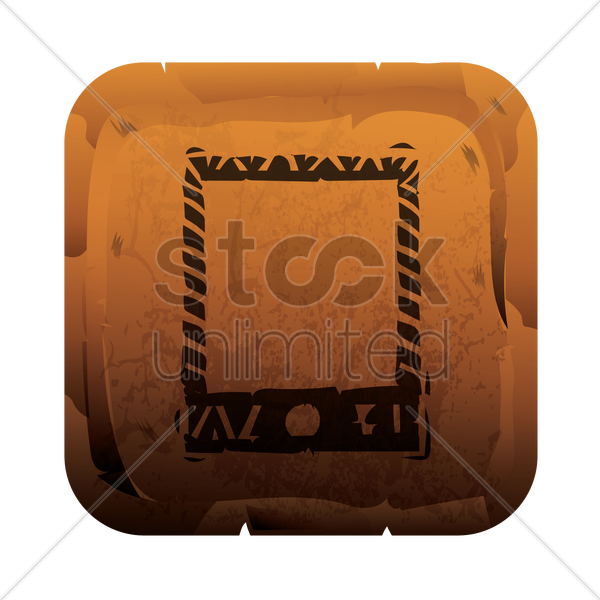 mobile phone icon vector graphic