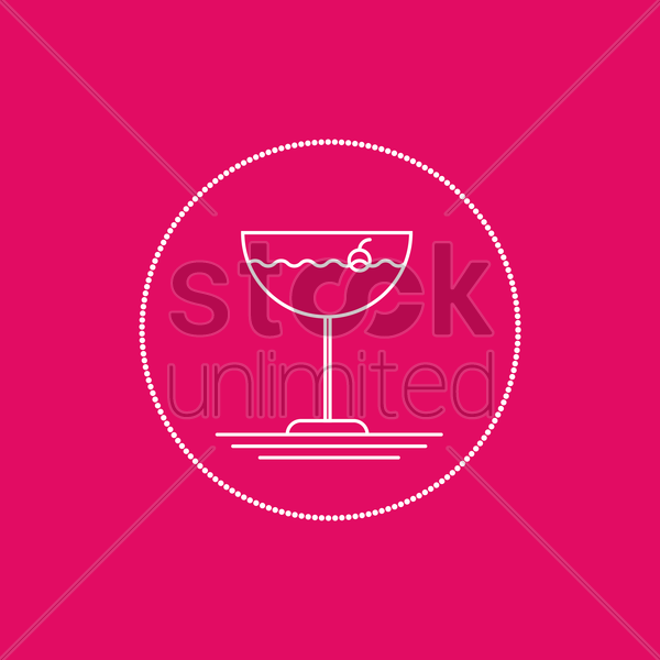 mocktail vector graphic