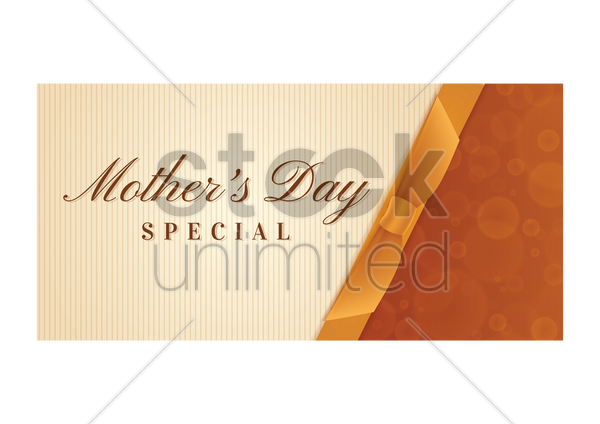 mothers day sale design vector graphic