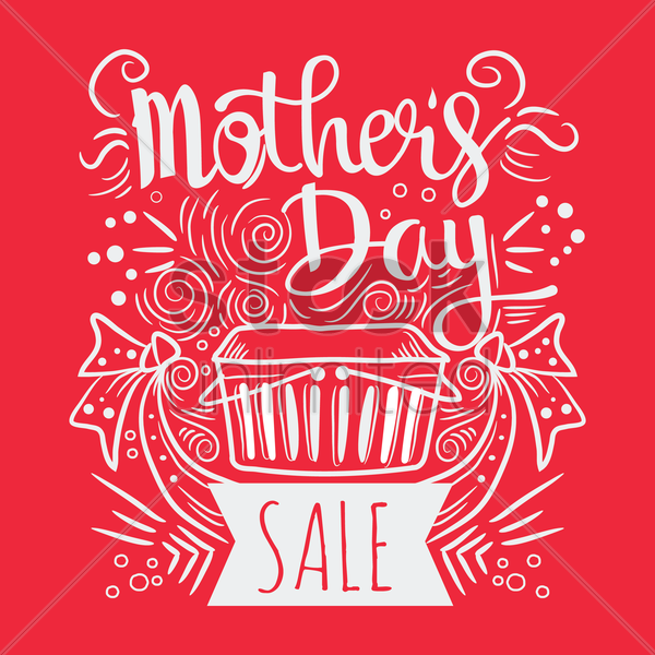 mothers day sale vector graphic